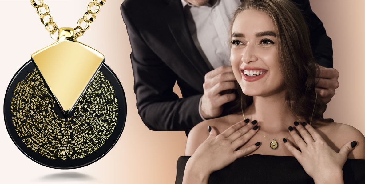 Anniversary Gift Ideas for Wife Necklaces Collection at Nano-Jewelry